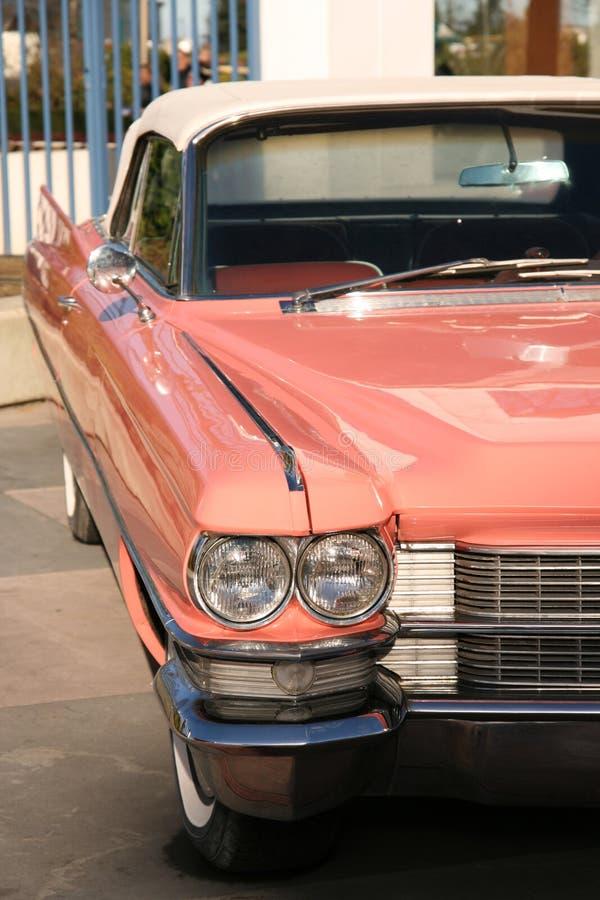 Download Vintage pink car stock photo. Image of bumper, retro, headlight - 1800902