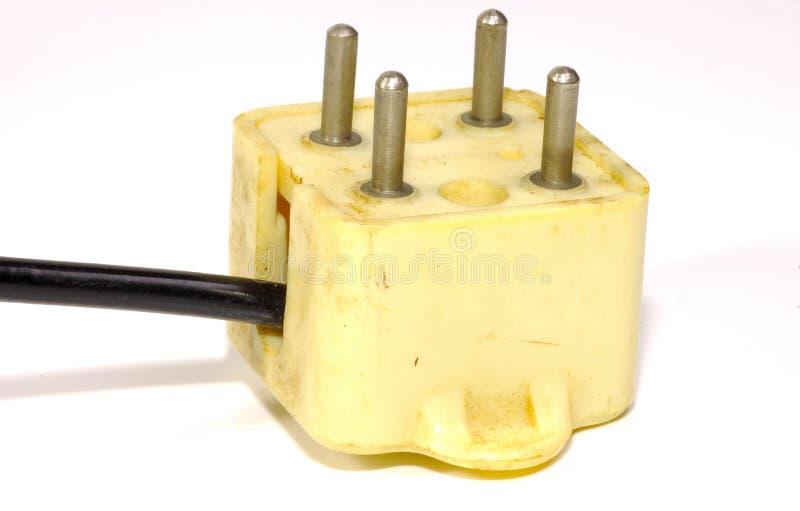 Vintage Plug 2 stock photo
