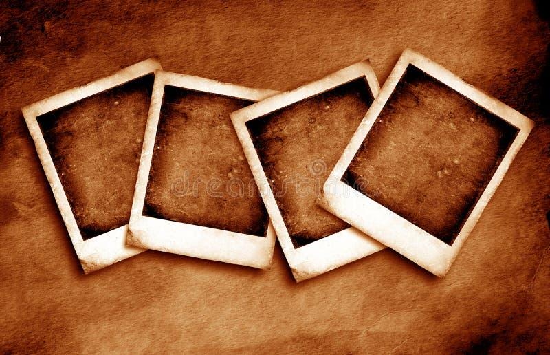 Vintage Polaroid frame. S, 2D illustration vector illustration