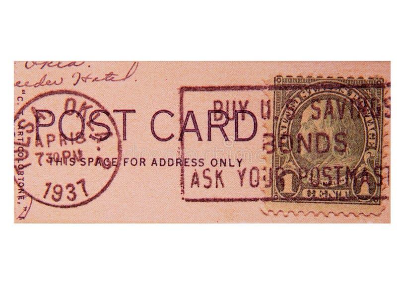 Vintage Postage royalty free stock photo