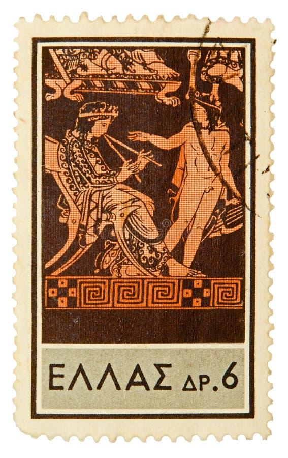 Vintage postage stamp stock images