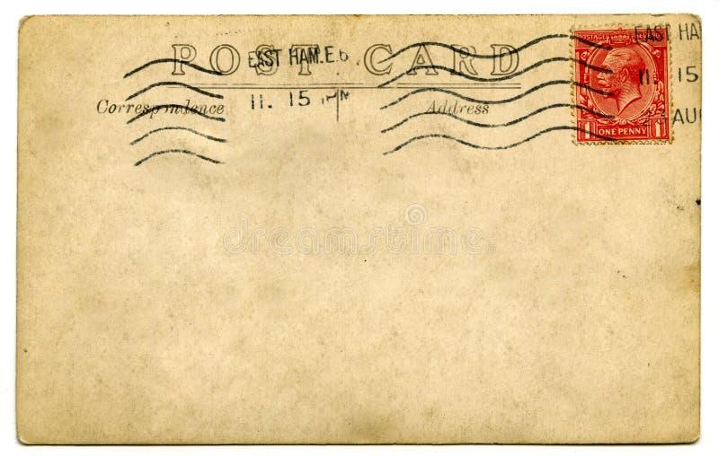 Download Vintage Postcard stock image. Image of grunge, marked - 28840861