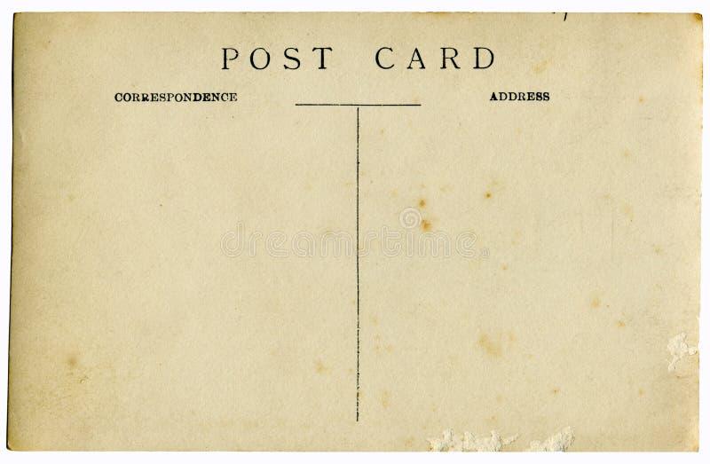 Vintage postcard stock images