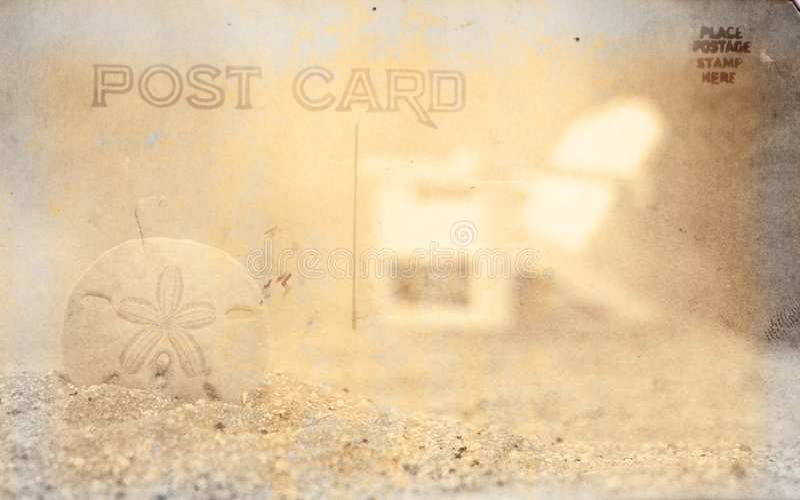Vintage Postcard Background royalty free stock photo