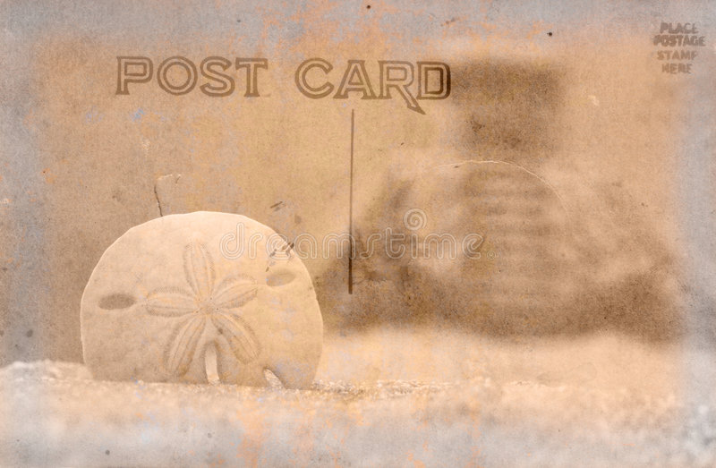 Vintage Postcard Background royalty free stock photography