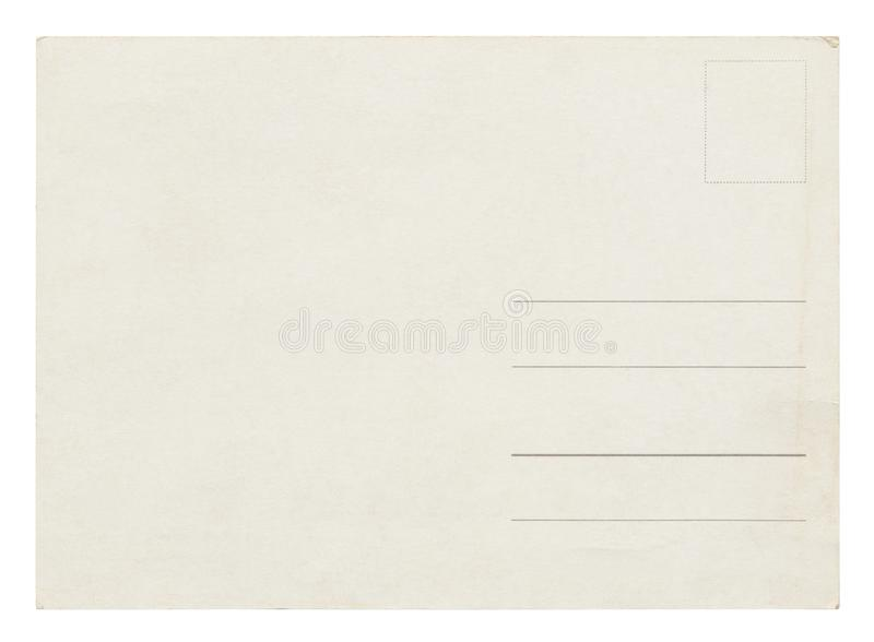 Vintage Postcard -  royalty free illustration