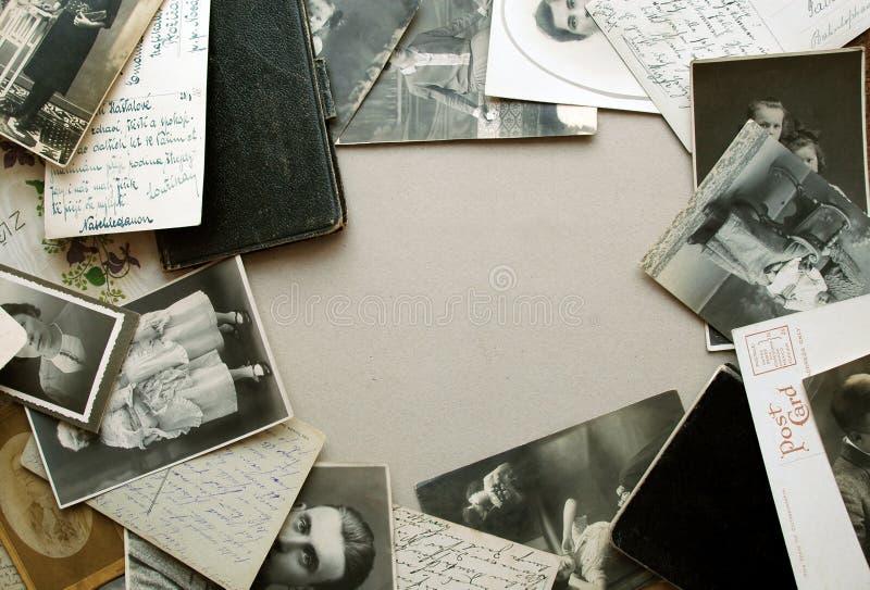 Vintage Postcards Stock Images
