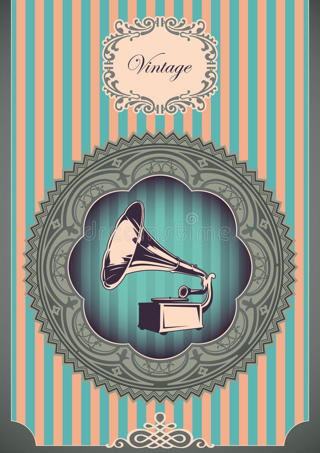 Download Vintage Poster. Stock Photos - Image: 22175673