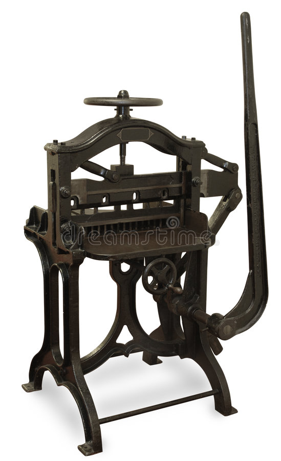 Download Vintage Printing Press stock image. Image of press, lithography - 2762025
