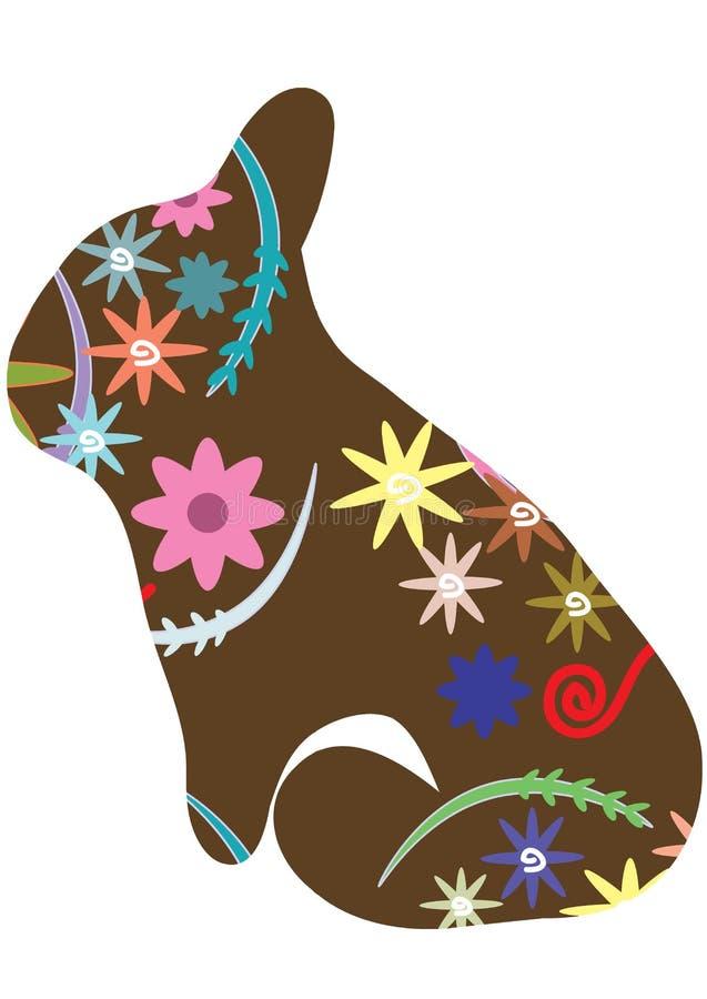 Vintage Rabbit royalty free stock image