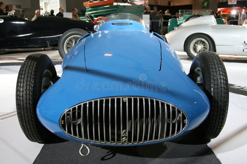 Vintage race car royalty free stock images