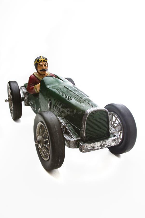 Vintage race car royalty free stock photos