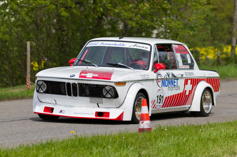 Bmw 2002 Tii Race Car >> Vintage Race Touring Car Bmw 2002 Tii From 1972 Editorial Image