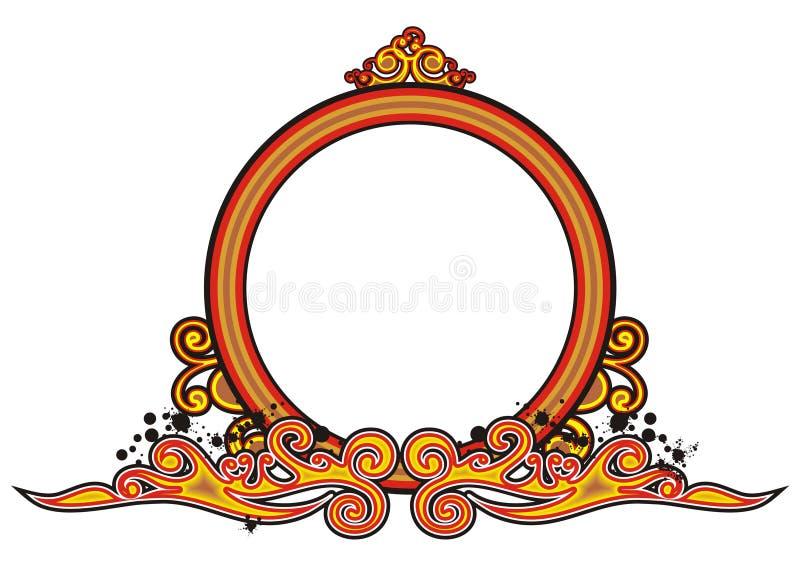 Vintage radial frame
