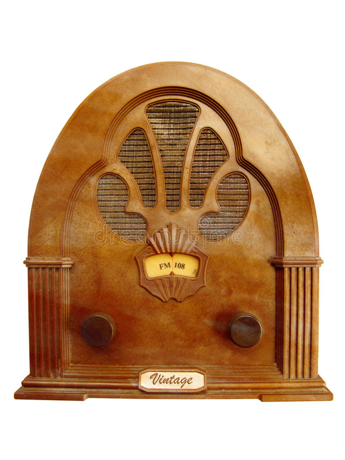 Free Vintage Radio Royalty Free Stock Images - 10819019