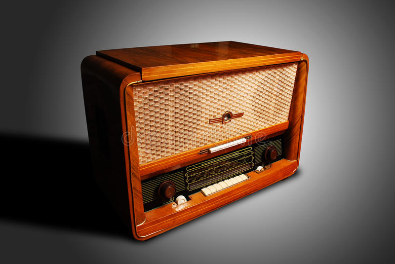 Vintage radio royalty free stock image