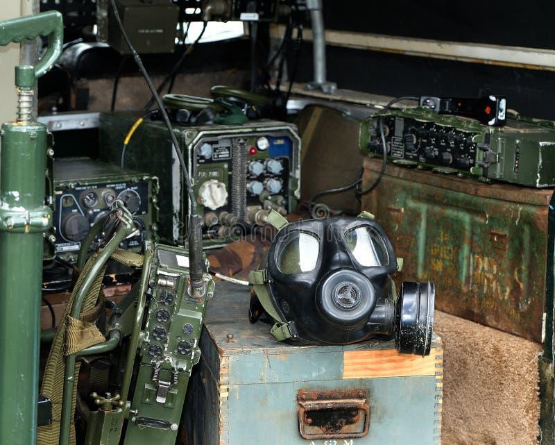Vintage radio communications equipment. royalty free stock photography