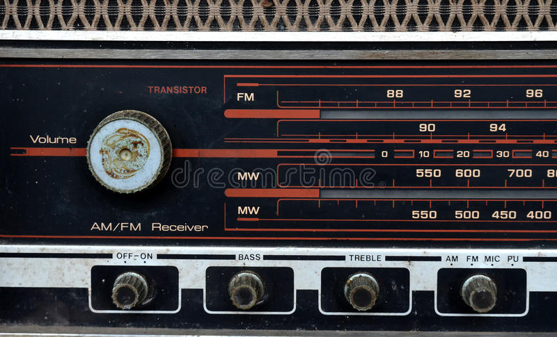 Download Vintage radio dial stock photo. Image of radio, tube - 21820604