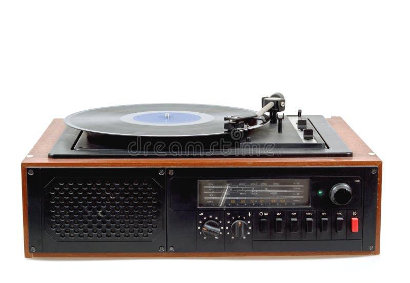 Download Vintage Radio Gramophone Player With Vinyl Stock Photo - Image: 28837846