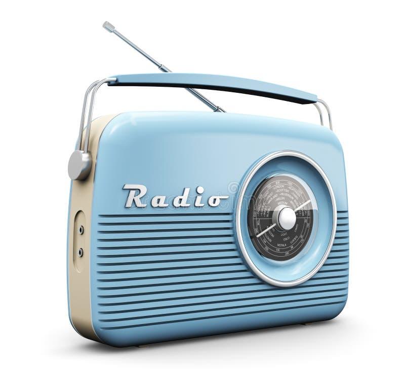 Vintage radio royalty free illustration