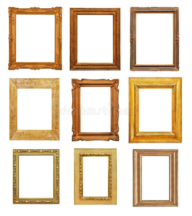 Vintage rectangular frames stock illustration. Illustration of empty ...