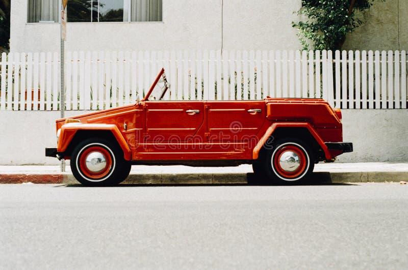 Vintage Red Car Free Public Domain Cc0 Image