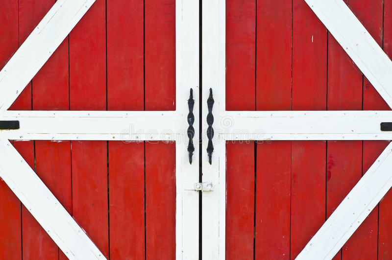 Download Red Farm Door. Stock Photo. Image Of Color, House, Interior