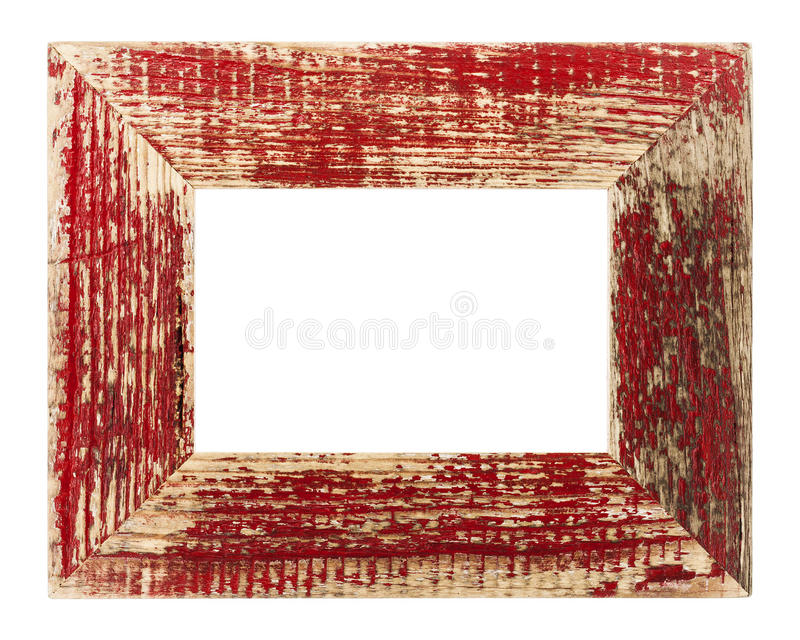 Download Vintage red picture frame stock image. Image of antiquated - 31219899