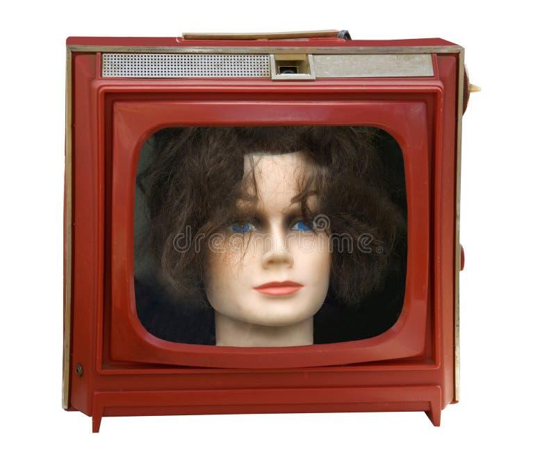 Retro Television Illustration Stock Photo Image Of