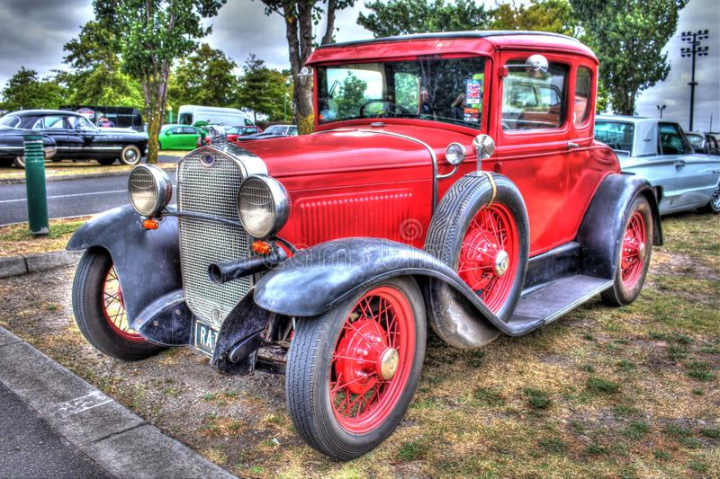 Vintage 1930s American Ford model A royalty free stock photo