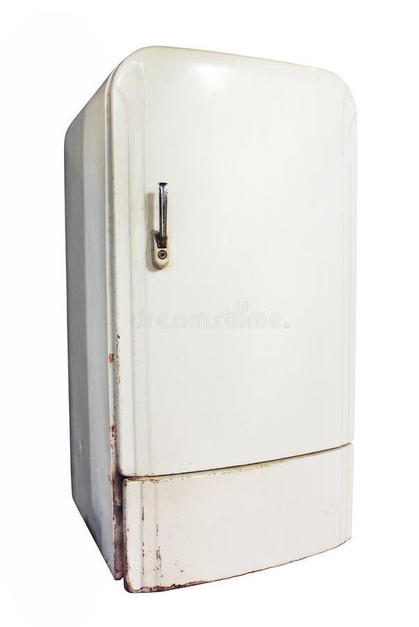 vintage refrigerator royalty free stock image image. Black Bedroom Furniture Sets. Home Design Ideas