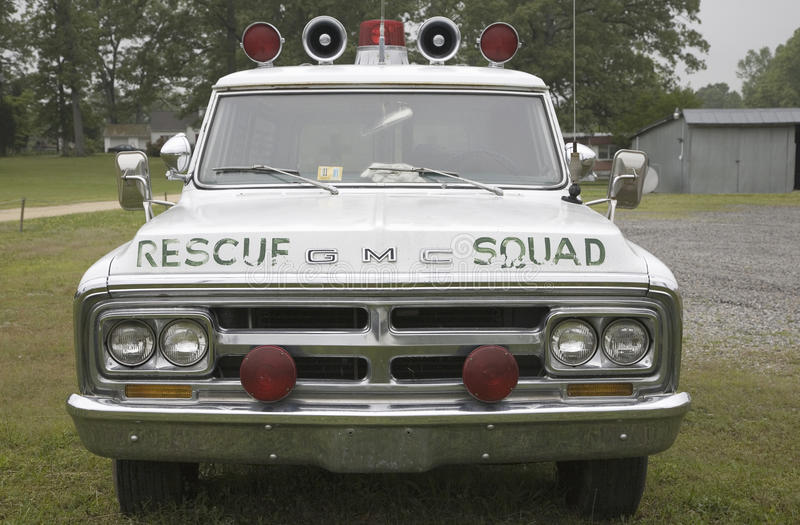 Download Vintage Rescue Squad Car Editorial Stock Image - Image: 27072159