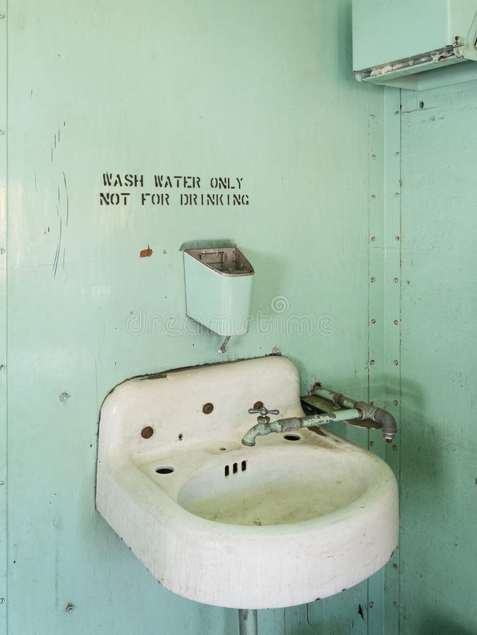 Vintage rest room royalty free stock photo