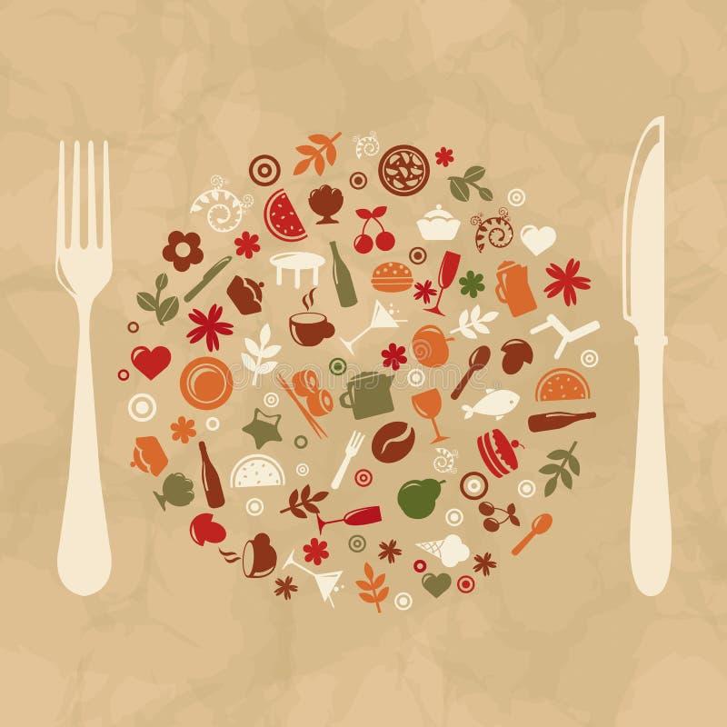 Free Vintage Restaurant Design Stock Photo - 24597360