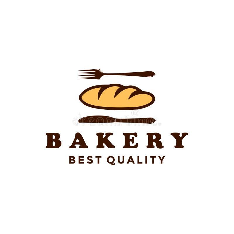 Vintage Retro Bakery / Bake Shop Label Sticker Logiciel vectoriel illustration libre de droits