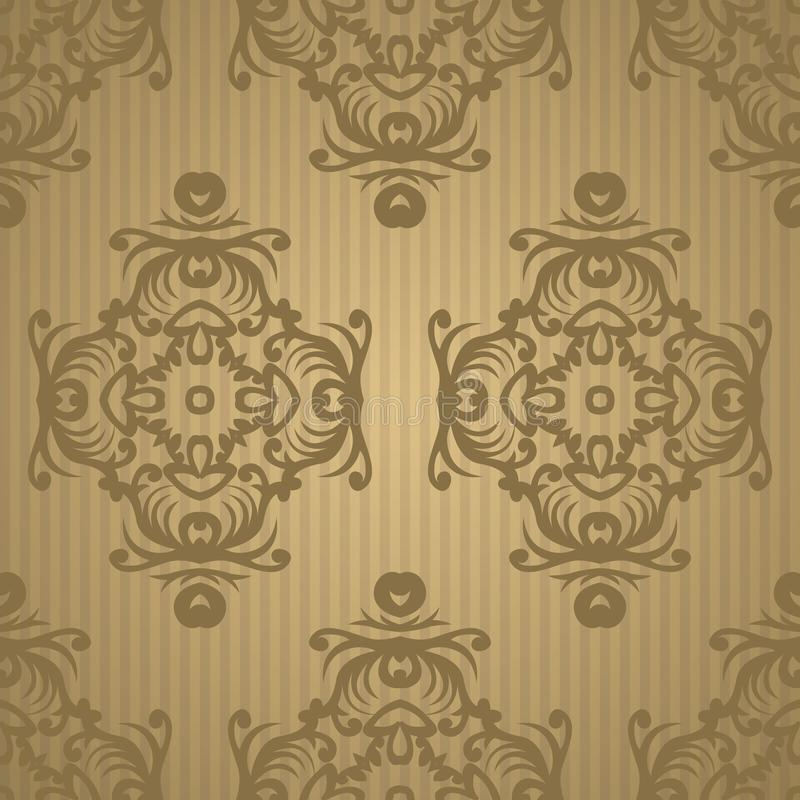 Vintage retro ceramic tile pattern. Vector tile Pattern. Antique. Retro ceramic tile patter can be used for wallpaper, background, surface textures. EPS 10 vector illustration