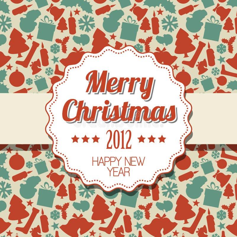 Download Vintage Retro Christmas Label Stock Images - Image: 22210954