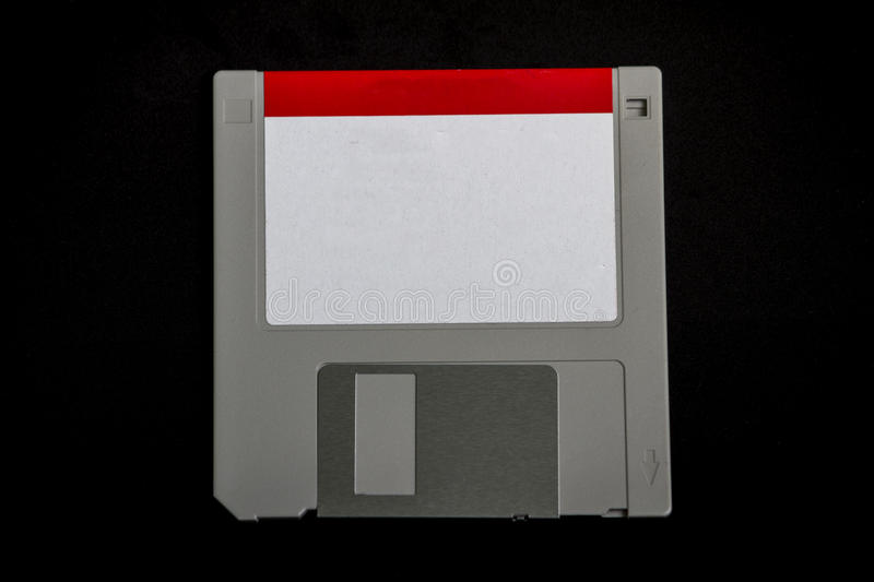Vintage / Retro 3.5 Floppy Drive. A vintage / retro 3.5 floppy drive use many years ago in personal computers royalty free stock images