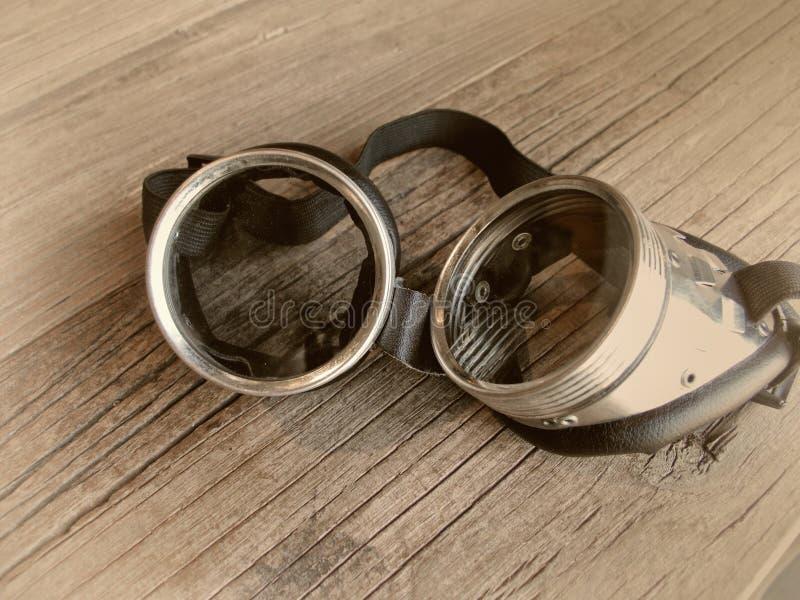 Vintage retro goggles royalty free stock photos