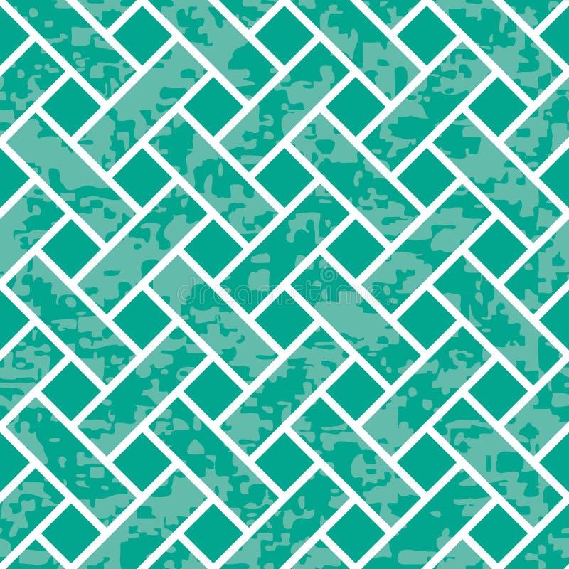 Seamless Basket Weave Background Pattern