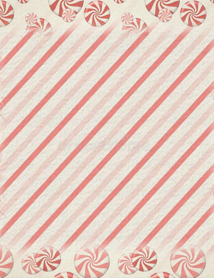 Vintage Retro Peppermint Candy Background Texture - Red - White - Christmas Texture. Vintage retro peppermint candy whimsical holiday Christmas background vector illustration