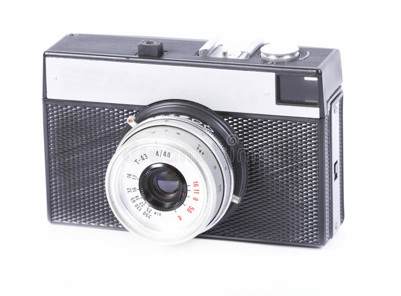Vintage retro photo camera royalty free stock photography
