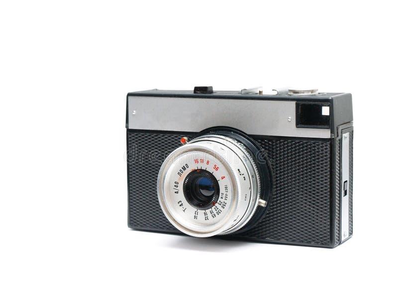 Vintage retro Russian photo camera stock photos