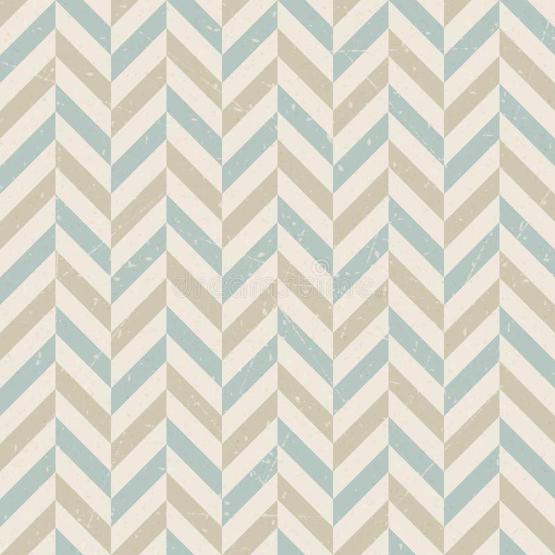 Vintage retro seamless pattern on paper background vector illustration
