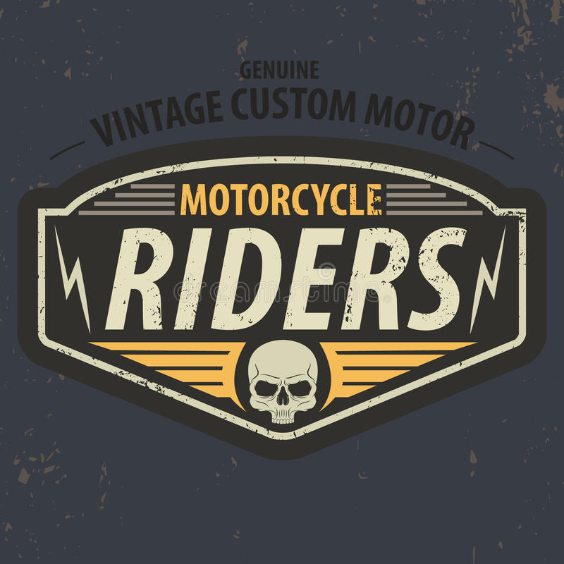 Vintage riders typographic for t-shirt design,tee graphic,vector. Vintage riders typographic with grunge effect for t-shirt design,tee graphic,vector vector illustration