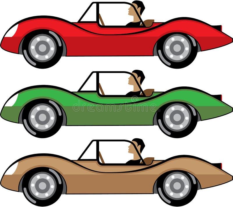 Vintage Roadster vector vector illustration