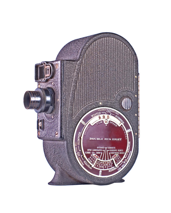 Download Vintage Roll Film Movie Camera Stock Image - Image: 13818929
