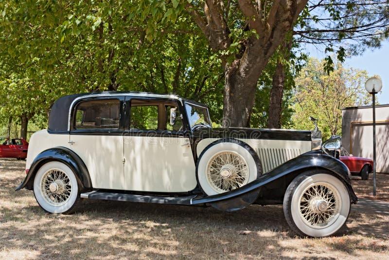 Vintage Rolls royce imagem de stock royalty free