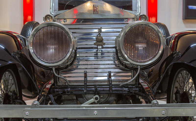 Vintage Rolls royce clássica imagens de stock