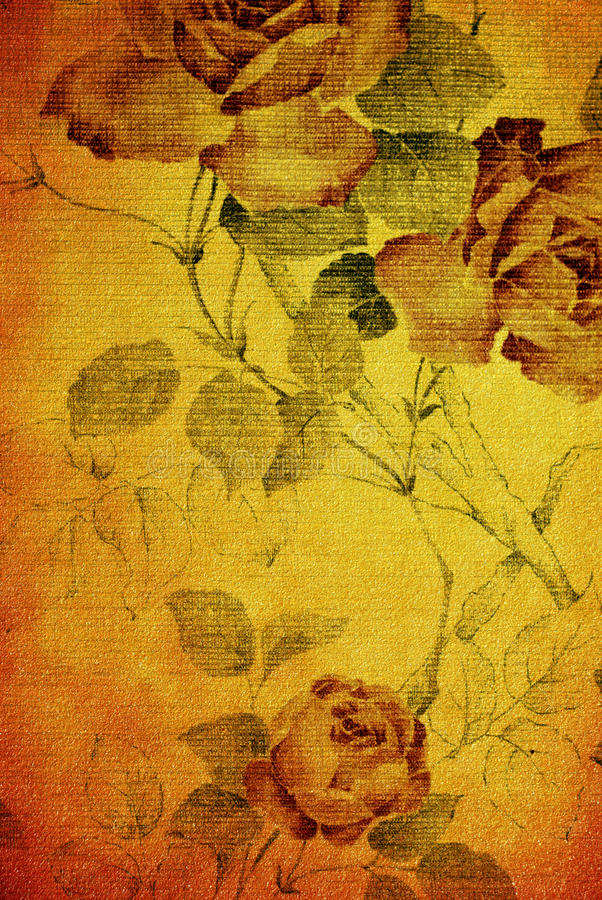 Vintage rose royalty free stock images